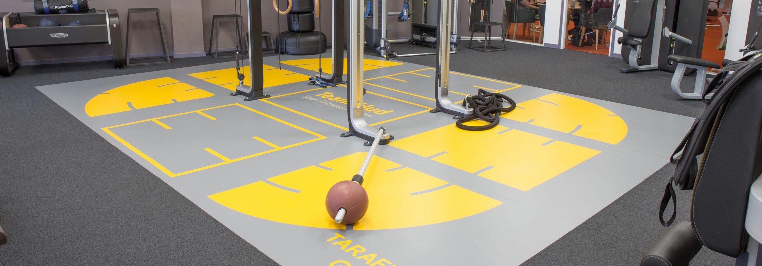 fitness zemin kaplama - sanat yer kaplama